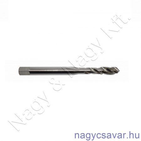 M5x0,8 gépi menetfúró erősített, csavart, zsákfurat HSS-Co DIN 371