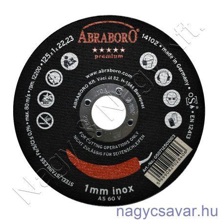 125x1,0x22 Chili INOX premium (black) ABRABORO