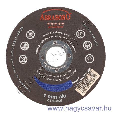 125x1,0x22 Chili ALU premium korong ABRABORO