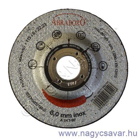115x6x22 Chili INOX fémtisztító korong