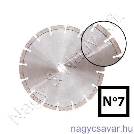 Univerzális gyémánttárcsa No7 230x22,23mm