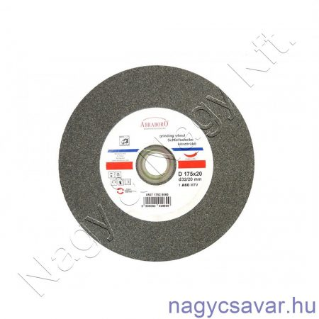 Köszörű korong Si-karbid 200x20x32/20 C80