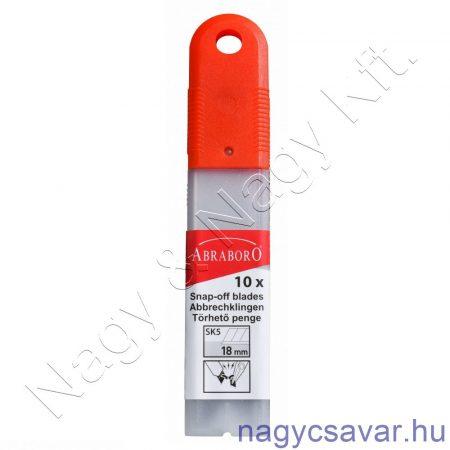 PVC penge 18mm 10db ABRABORO