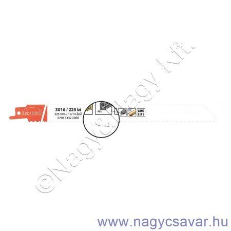 3016/225 bi szablyafűrész lap Metall/Alu 5db ABRABORO