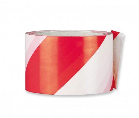 33x60 öntapadó jelölőszalag piros/fehér