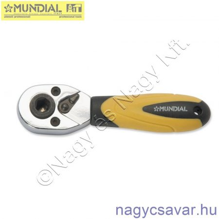 "Racsnis kulcs kombinált, mini 1/4"" MUNDIAL"