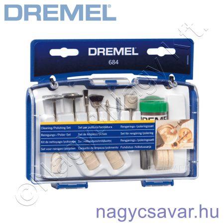 684 tisztító-polírozó készlet DREMEL