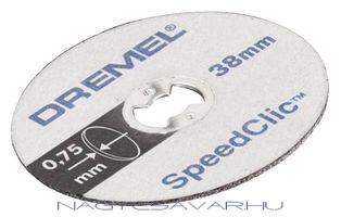 SC409 vékony vágókorong, 5db/cs DREMEL
