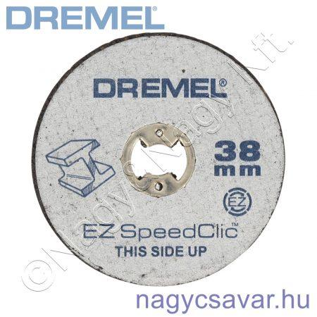 SC456 fémvágó korongok, 5-ös csom DREMEL