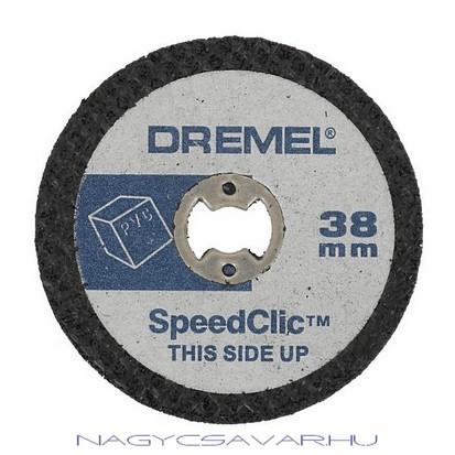SC476 műanyagvágó korongok, 5db/cs DREMEL