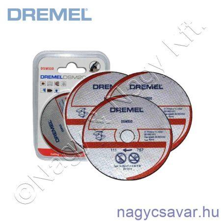 S510 DSM Fém-és műanyagvágó tárcsa DREMEL