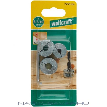 Wolfcraft fúrásmélység ütköző 6/8/10mm