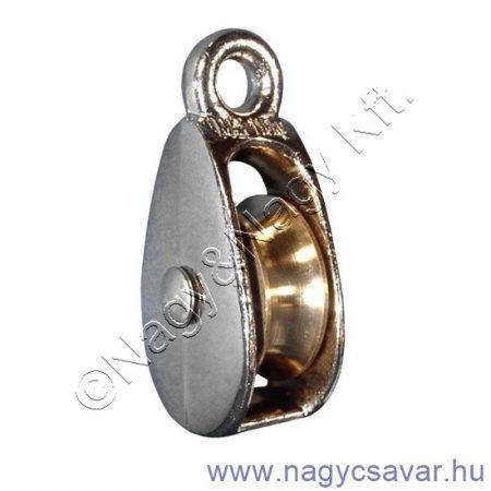 Egyes kötélcsiga 25mm 100kg 6mm kötélhez