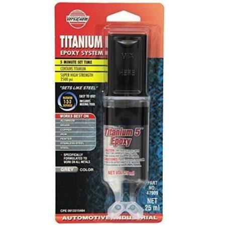 TITANIUM epoxy minden fémhez 25ml (VersaChem)
