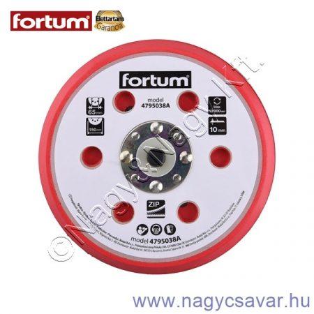 Tartalék gumi talp 150mm 6+16 lyuk FORTUM