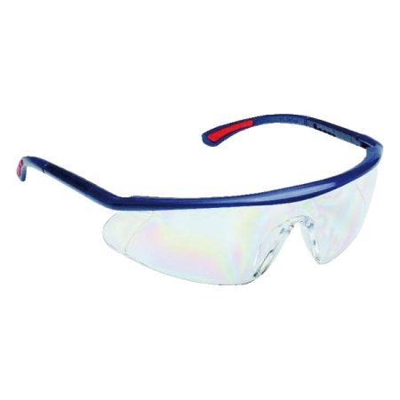 Védőszemüveg BARDEN víztiszta páramentes, karcálló, PC látómezővel