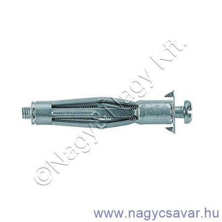 HM 6x37 S üreges fém rögzítődübel 50/cs Fischer