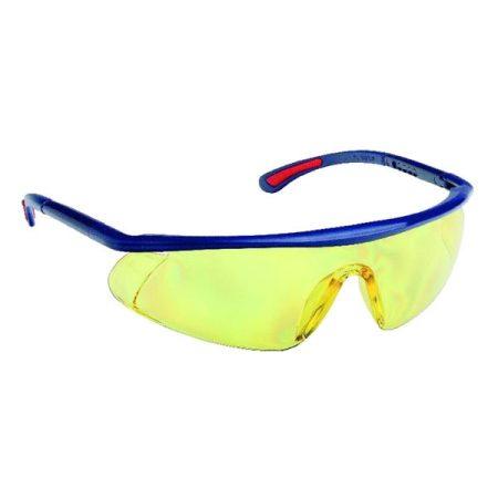 Védőszemüveg BARDEN sárga páramentes, karcálló, PC látómezővel
