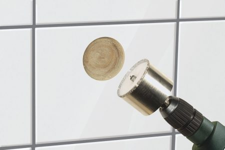 """Gyémánt koronafúró O35mm, S=10mm, d=45mm, """"ceramic"""" WolfCraft"""