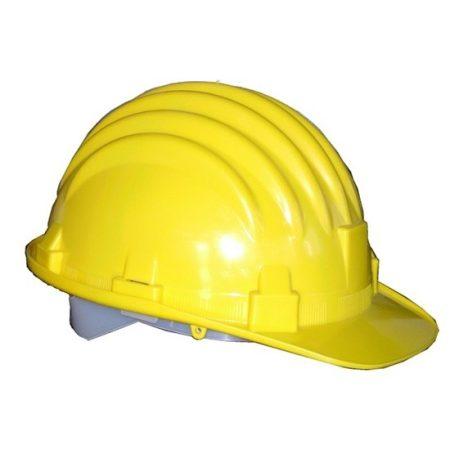 Védősisak - sárga