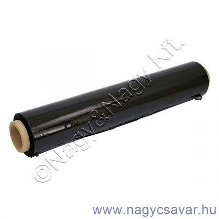 Fólia fekete raklapövező 500mm/0,023mm 170m
