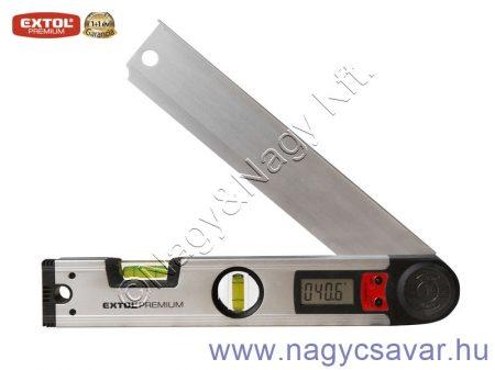 Vízmérték digitális szögmérővel 305mm EXTOL Prémium