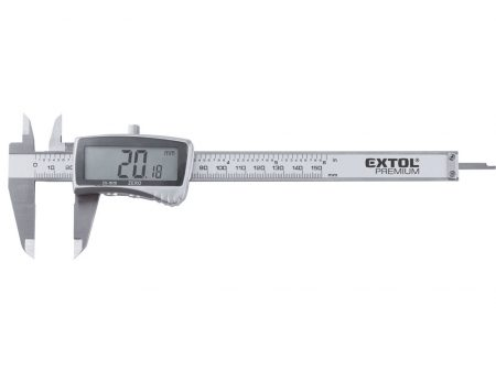 Digitális tolómérő 0,01×150mm 0,03mm EXTOL Prémium