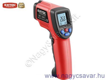 Infravörös digitális hőmérő -50°C~ +550°C EXTOL Prémium