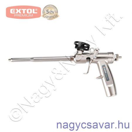 Purhab kinyomó pisztoly fém EXTOL Prémium