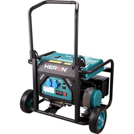 Benzinmotoros áramfejlesztő, 1 fázisú, max. teljesítmény 3,0kVA HERON