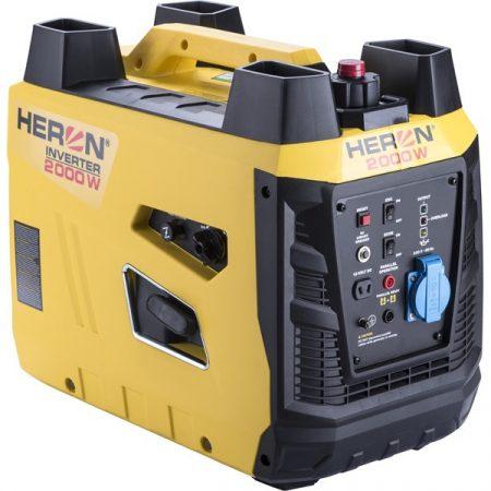 Benzinmotoros áramfejlesztő, 2,0kVA, 230V, digitális szabályzású HERON
