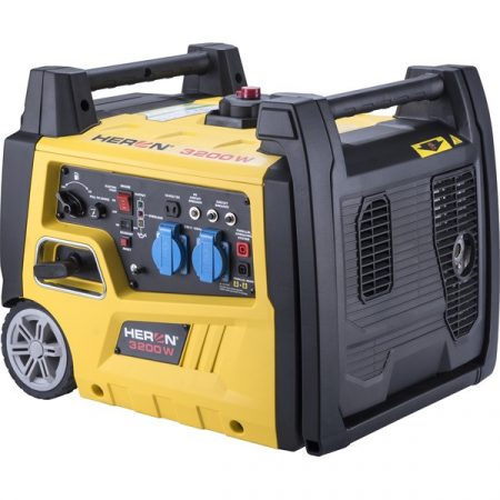 Benzinmotoros áramfejlesztő, 3,0kVA, 230V, digitális szabályzással HERON