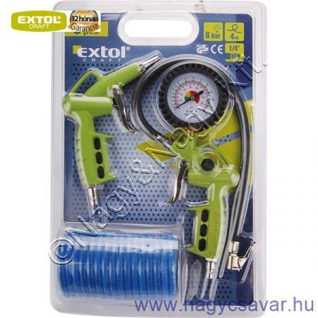 Alap légkompresszor tartozék szett, 3r. EXTOL-Craft