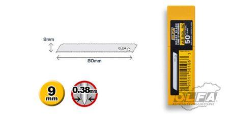 AB-SOL-50 9mm-es penge 50db OLFA