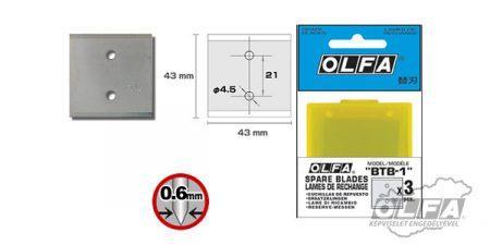 BTB-1 ipari penge 3db OLFA