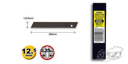 FWB-10 12,5mm-es fekete penge 10db OLFA