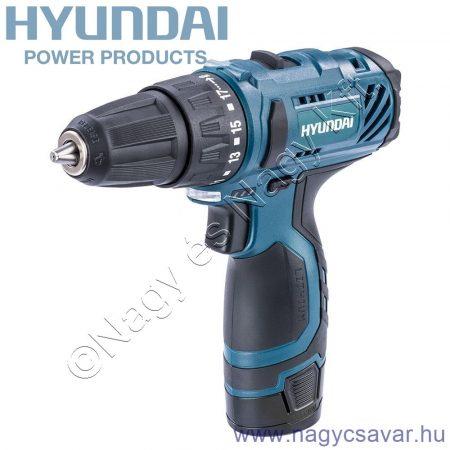 Hyundai akkus fúró-csavarozó 10,8V Li-Ion 1x1,5Ah (HYD-10,8VB-Li)
