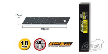 LBB-10 18mm-es fekete penge 10db OLFA