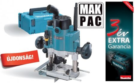 Makita RP0910J 900W 8mm felsőmaró 0-57mm