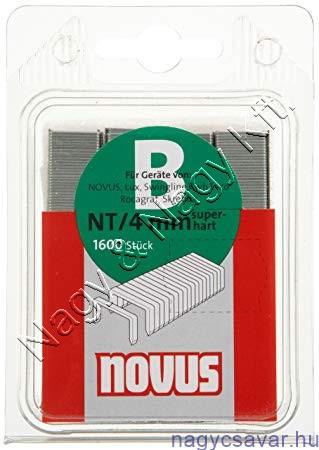 B NT 4mm 1.600db (042-0361) kifutó NOVUS