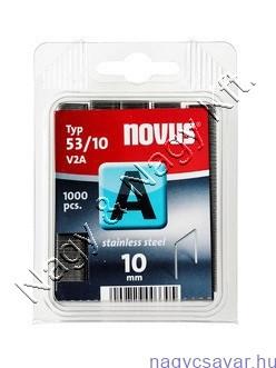 A 53 10mm (V2A nemesacél) 1.000db (042-0458) NOVUS