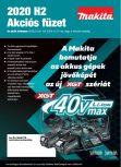 MAKITA H2 akció 2020.07.01-12.31-ig