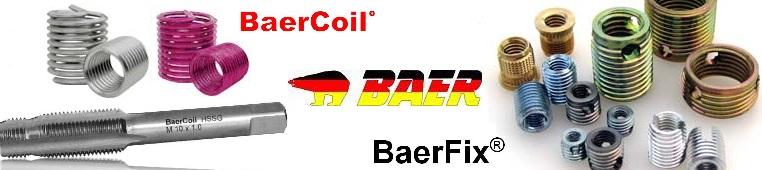 BaerCoil és BaerFix menetjavító eszközök
